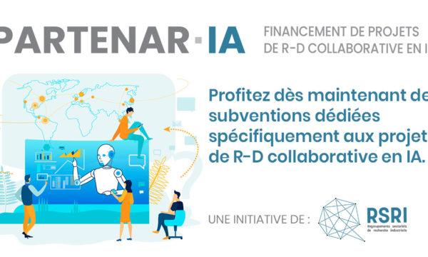SUBVENTION – INTELLIGENCE ARTIFICIELLE – RD