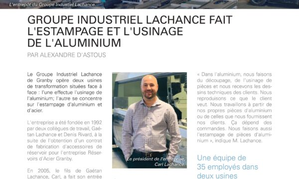 PME INNOVATION – Groupe Industriel Lachance